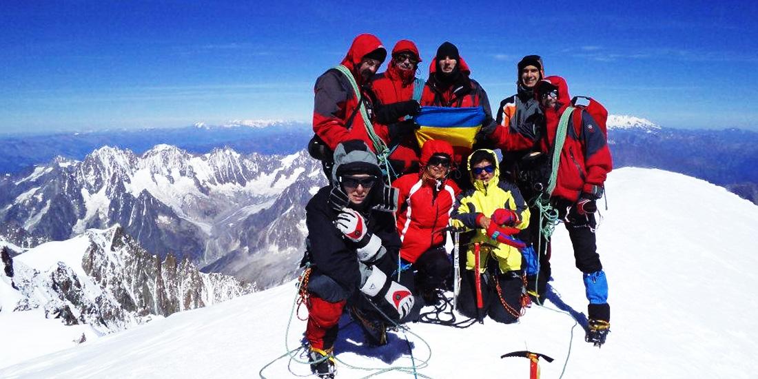 alpinism mt blanc cluj