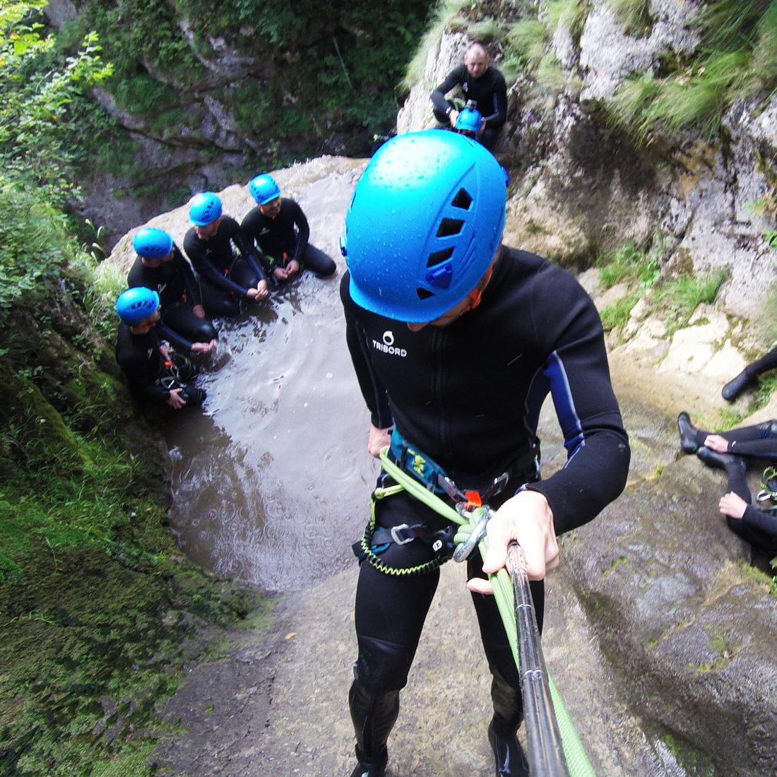 Canyoning Salciua Cluj