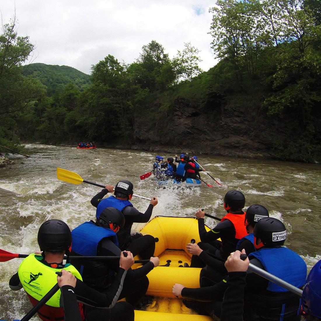 Rafting Crisul Repede