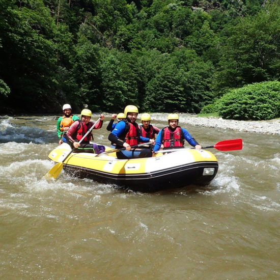 Rafting pe Jiu